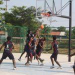 Anna University Basketball Court