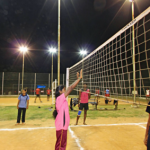 Anna University Volleyball Ground