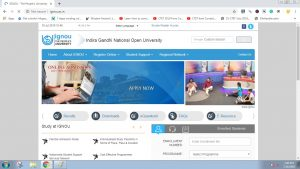 Visit the official Website of IGNOU : IGNOU Identity Card