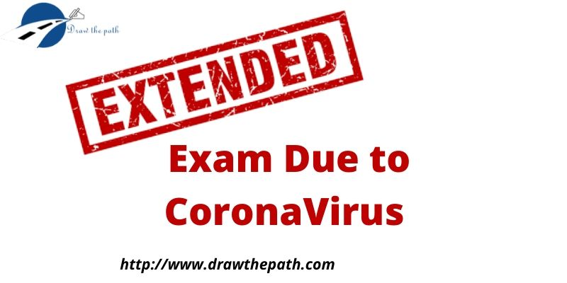 Exam Due to CoronaVirus