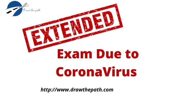 Exam Due to CoronaVirus